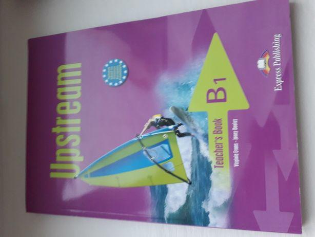 Upstream B1 Teacher's book. Новый.