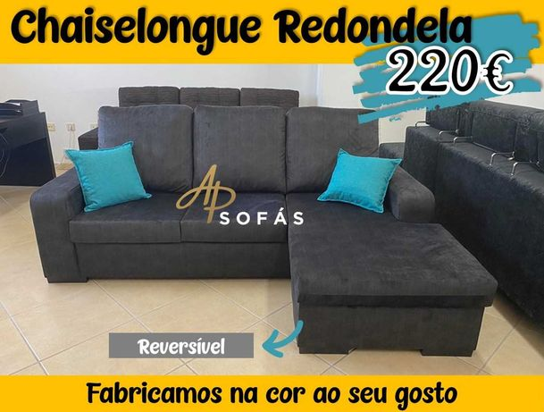 Sofá Chaiselongue Redondela APENAS 220€ - FAZEMOS ENTREGAS