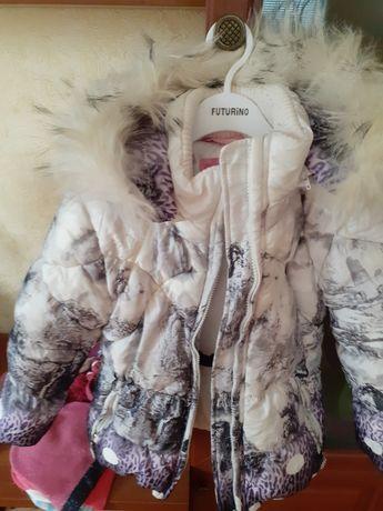 Зимняя куртка и комбинезон на 5-6 лет