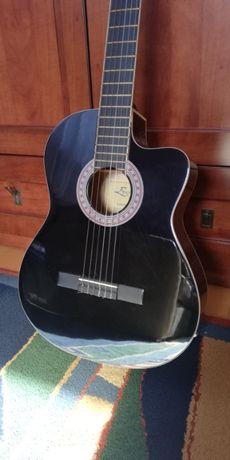 Gitara elektrycznoklasyczna Ever Play EP-90 CEQ BK
