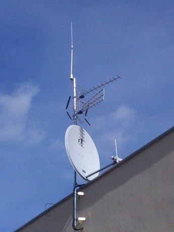 Montaż, serwis anten satelitarnych, naziemnych oraz zbiorczych