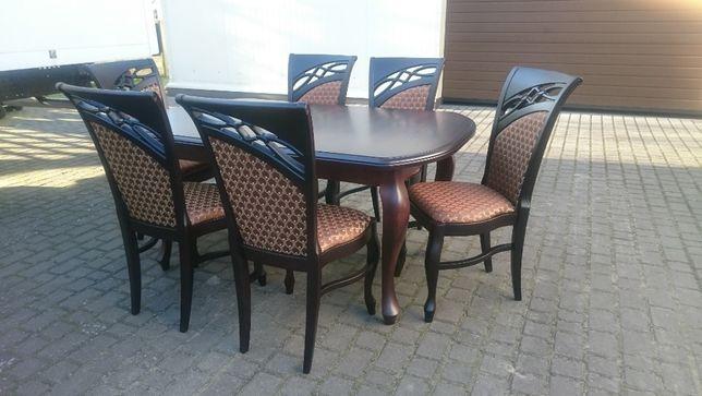 Krzesło tapicerowane stylowe modne wygodne producent