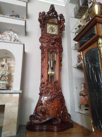 Часы напольные Барокко Купить механические напольные часы
