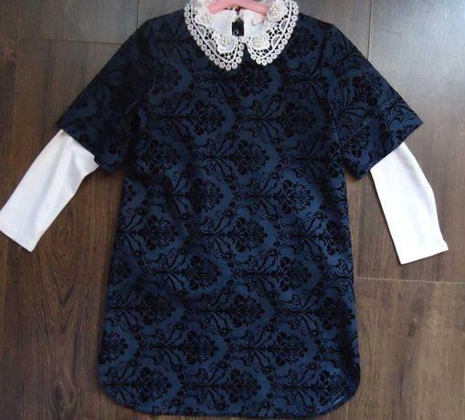 Платье школьное Mothercare Monnalisa Choupette Wojcik 128рост