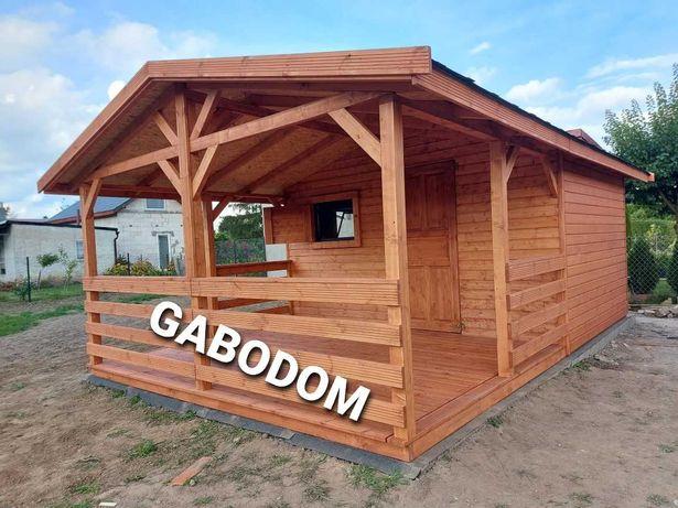 Domek drewniany letniskowy MiREK 24M2 montaż i dojazd w cenie altana