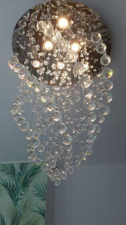 Candeeiro moderno de cristal