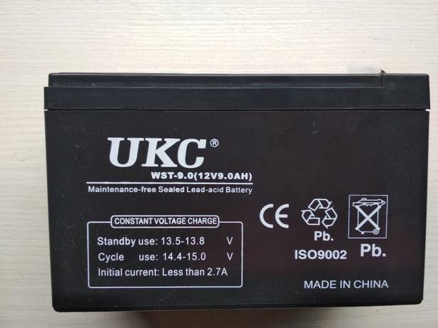 Аккумулятор гелевый UKC 12В 12V 9 Ah.Для УПС,ИПБ,сигнализаций и тд
