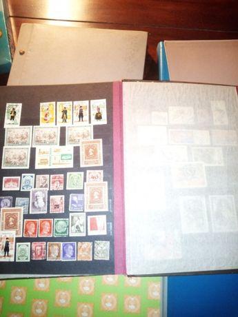 Klasery 8 szt znaczki pocztowe