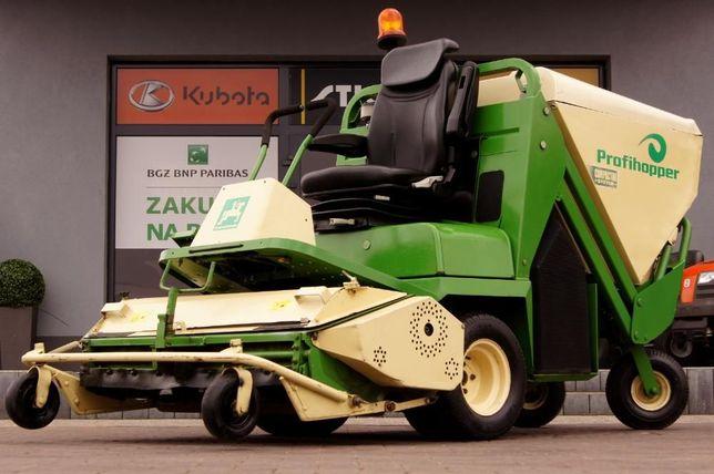 Traktorek kosiarka Amozone Profihopper WYSYP GÓRNY PRO