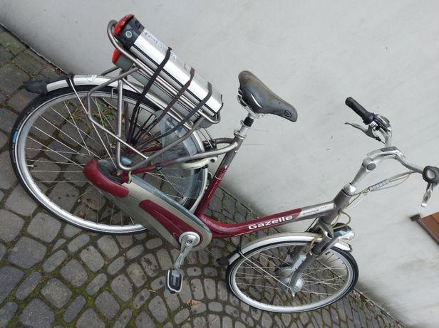 Rower Elektryczny * GAZELLE * Damka ORANGE Innergy