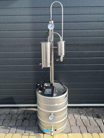 Destylator pot-still 2 odstojniki AUTOMAT 30l | 50l gaz lub grzałki