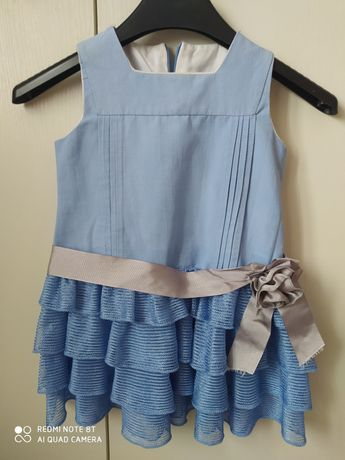 Sukienka na 2-3 latkę
