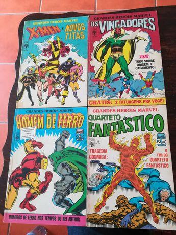33 Livros Grandes Heróis Marvel