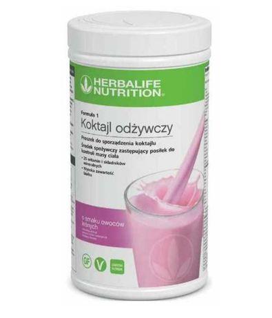 Koktajl herbalife Nutrition rozne smaki plus dieta
