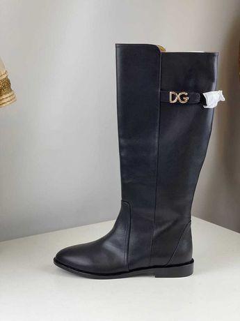 Сапоги Dolce Gabbana dg сапоги кожанные