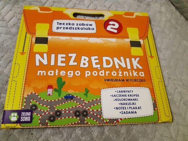Teczka zabaw przedszkolaka 4+, Zielona sowa