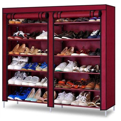 Szafka na buty 12x półka organizer garderoba wrzosowa