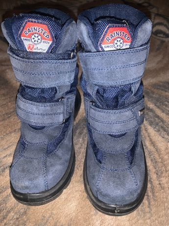 Термосапоги ботинки Naturino