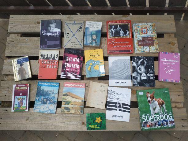 Książki różne, polskojęzyczne, anglojęzyczne
