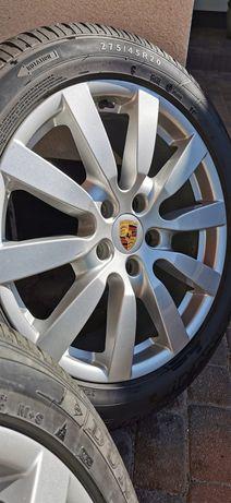Sprzedam Felgi Porsche + opony zimowe !!!