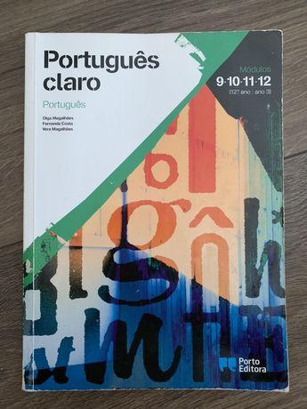 Livro português 12 ano módulos- Português claro