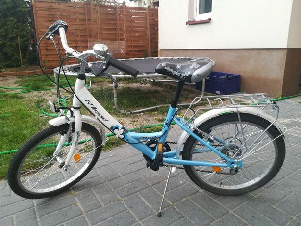 """Rower R-Land ANGELA 20"""" niebieski"""