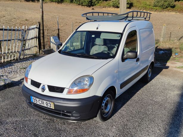 PNEUS NOVOS Renault Kangoo 1.5 dCi 85 CV A/C 2007 IVA Dedutível 1 DONO