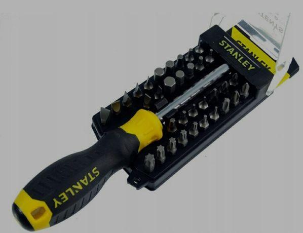 Отвертка Stanley Multibit многофункциональная 34 насадки STHT0-70885