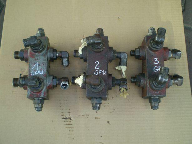 dzielnik strumienia oleju z wózka GPW