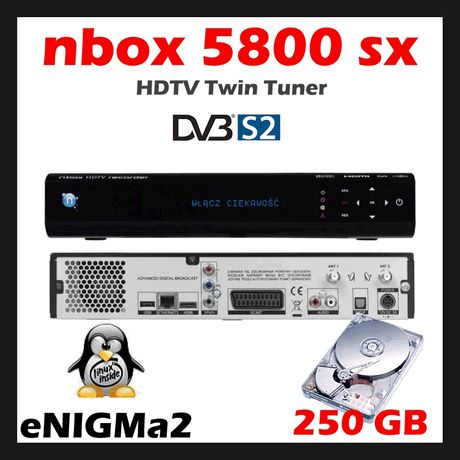 nBOX NC+ 5800SX BSLA 250GB Enigma2 oscam