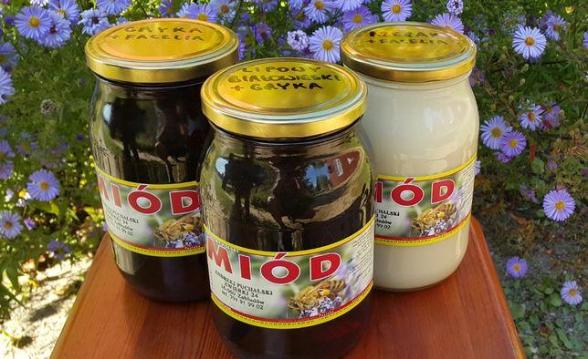 Miód lipowy z Puszczy Białowieskiej z gryką z Sokólszczyzny - 100%