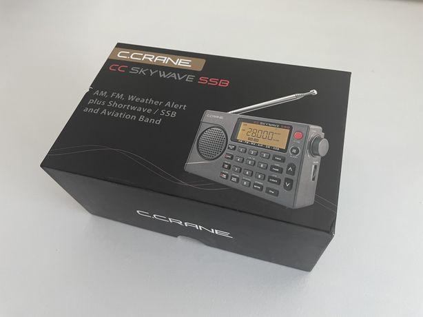 Radio CCRANE Skywave SSB novo (radioamador)