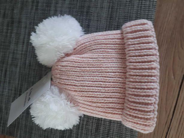 nowa czapka zimowa niemowleca40/42    5 10 15