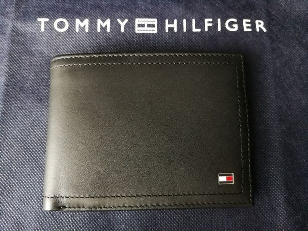 TOMMY HILFIGER skórzany męski portfel