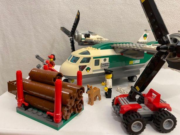 LEGO City 60021 Wirolot samolot transportowy