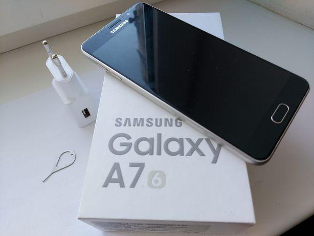 Смартфон Samsung A710F Galaxy A7 (2016) (Gold) 16 ГБ