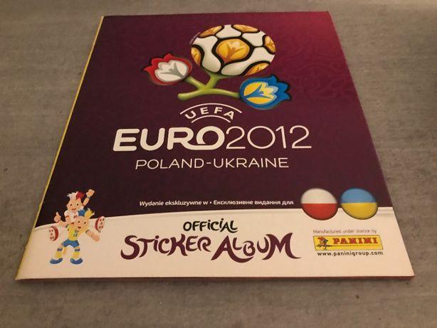 Album Panini Euro 2012 Poland Ukraine