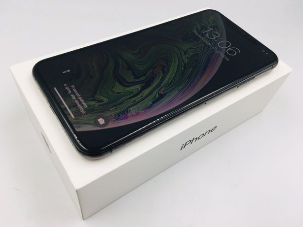 iPhone XS MAX 64GB SPACE GRAY • PROMOCJA • GW 1 MSC • AppleCentrum