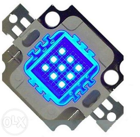 Leds 10w Royal Blue - Led alta potência