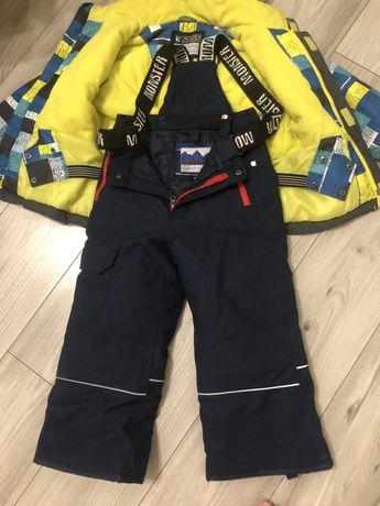 Зимовий костюм на хлопчика 5 років