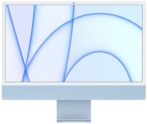 Apple iMac 24 M1 Blue 2021 (MJV93) Гарантия от Магазина!