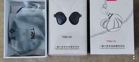 Гибридные наушники TRN VX