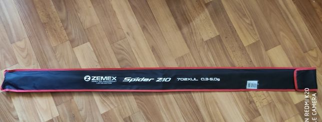 Спиннинг ZEMEX SPIDER Z-10 702XUL 0,3-5 g
