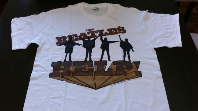 T-shirt dos Beatles: artigo Novo e Oficial da banda