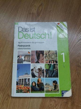 Podręcznik gimnazjum niemiecki Das ist Deutsch!