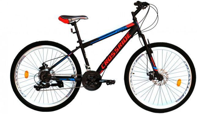 """Велосипед Crossride Tiger 26"""" 15"""" 2019 Черный"""