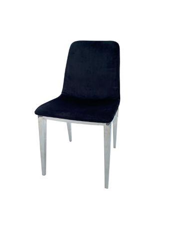 Nowoczesne Krzesło Chromowane PT-506 GLAMOUR-SILVER