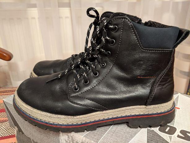 Шкіряні черевики / ботинки 35р.