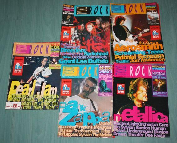 Magazyn Tylko Rock, dużo egzemplarzy, lata 92-97