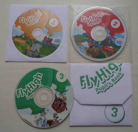 Английский Fly High Pupil's 1, 2, 3 класс CD диск